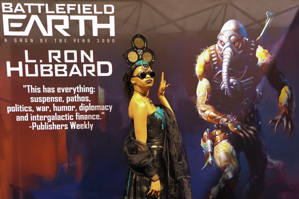 Battlefield Earth at Long Beach Comic Expo