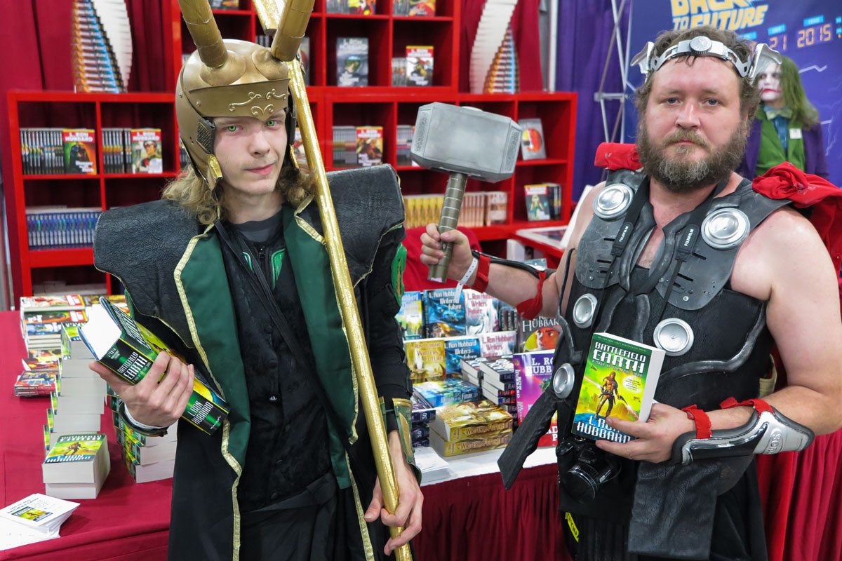 Thor and Loki at Salt Lake Comic Con 2015