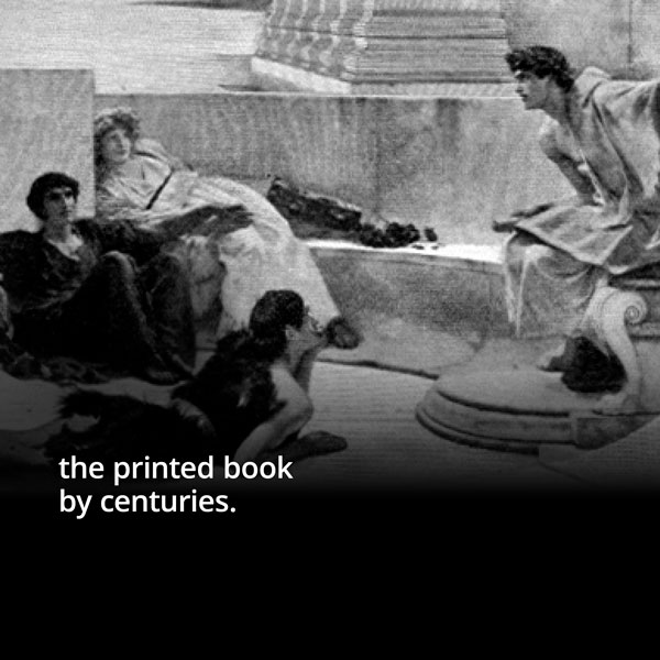 the printed book by centuries.