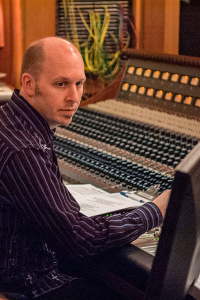 Brian Vibberts, a six-time Grammy award-winning audio engineer