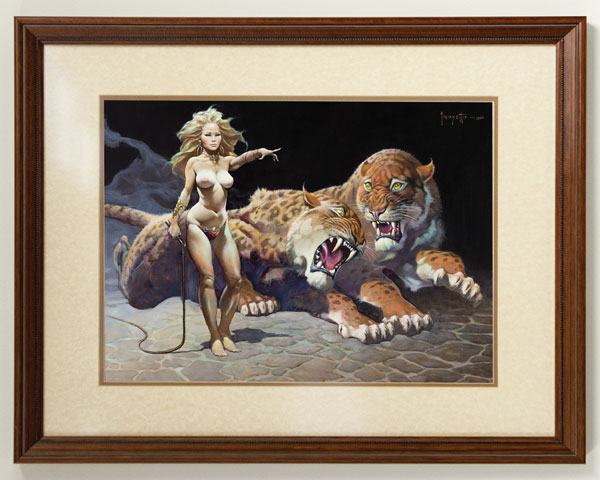 """The Countess"" by Frank Frazetta"