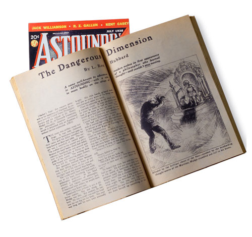 The Dangerous Dimension published in the July 1938 issue of Astounding science fiction