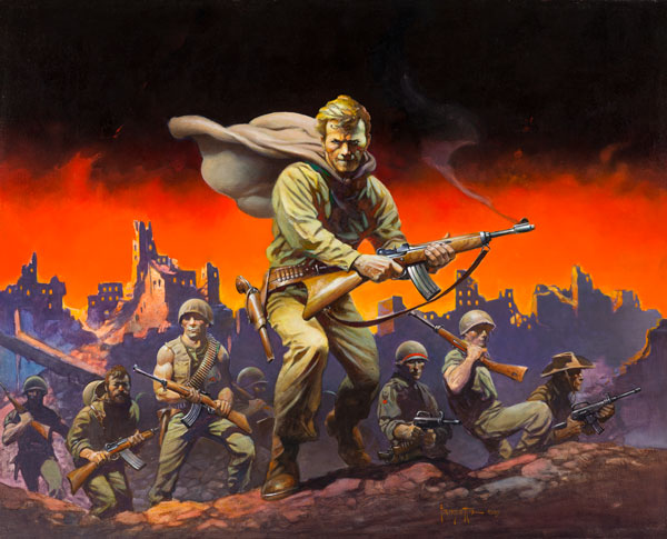 """Final Blackout"" by Frank Frazetta"