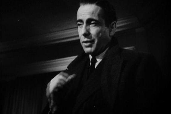 Humphrey Bogart as Detective Sam Spade