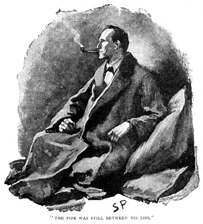 Original illustration of Sherlock Holmes