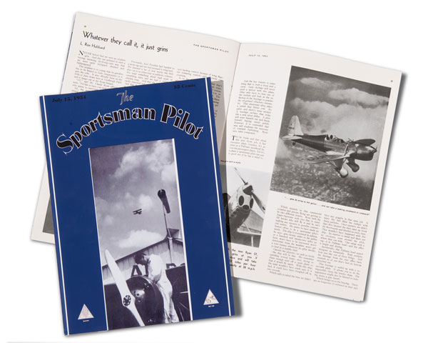 The Sportsman Pilot, July 1934 issue