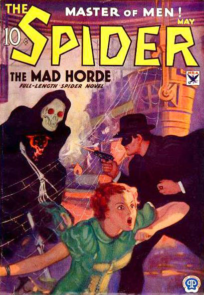 The Spider pulp magazine, May 1934