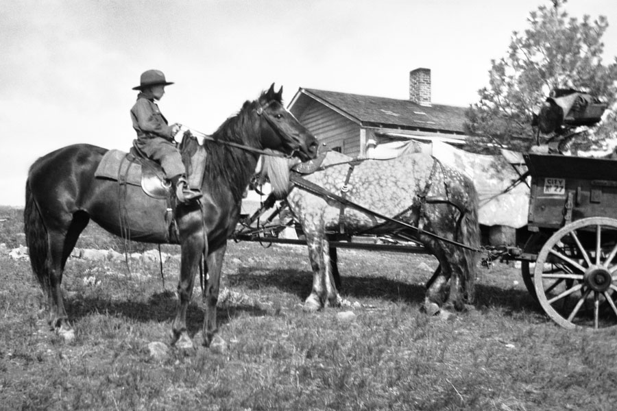 L. Ron Hubbard, Helena, Montana, 1914