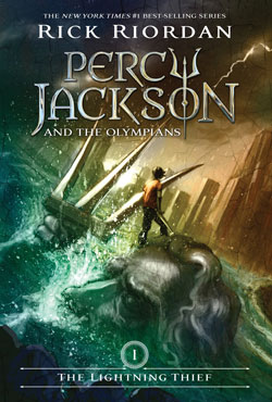 Percy Jackson and the Olympians cover