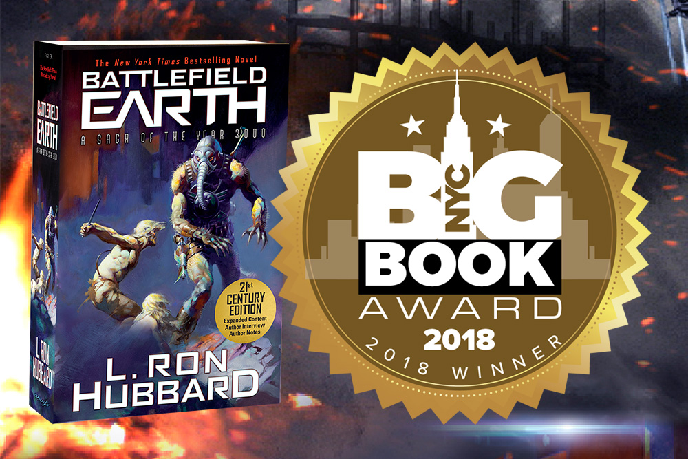 Battlefield Earth NYC Big Book Award