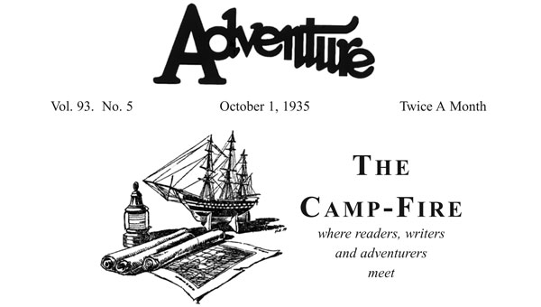 The Camp-Fire article header