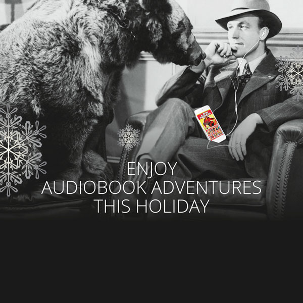 Enjoy Audiobook Adventures This Holiday