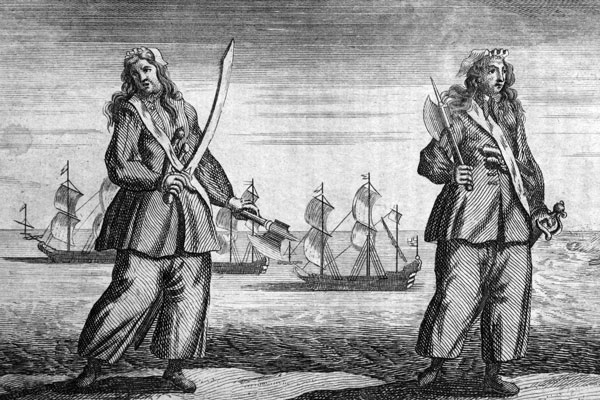 Female Pirates, Ann Bonny and Mary Read
