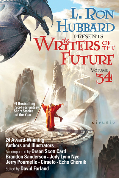 Writers of the Future Volume 34 trade paperback