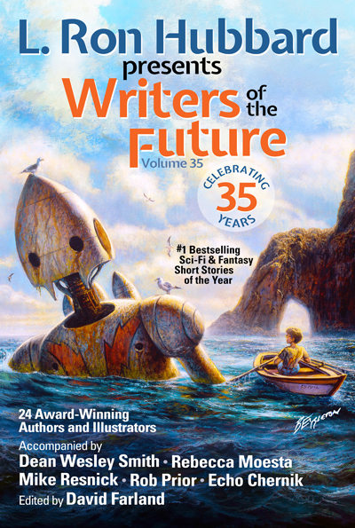 Writers of the Future Volume 35 trade paperback