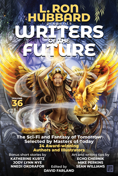 Writers of the Future Volume 36 trade paperback