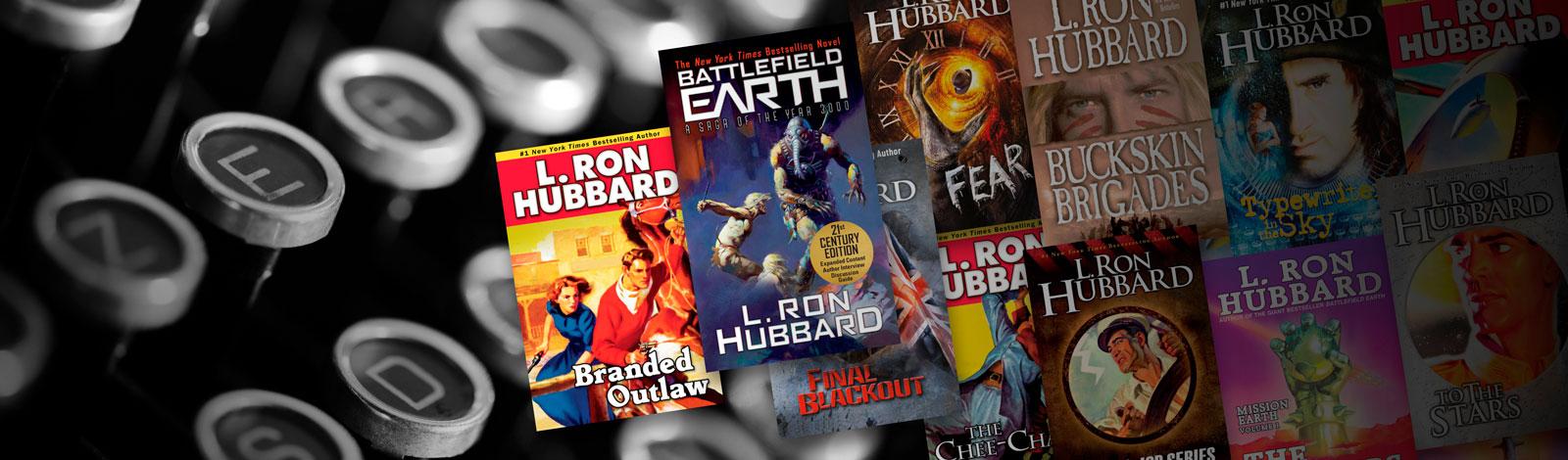 L. Ron Hubbard Fiction Books