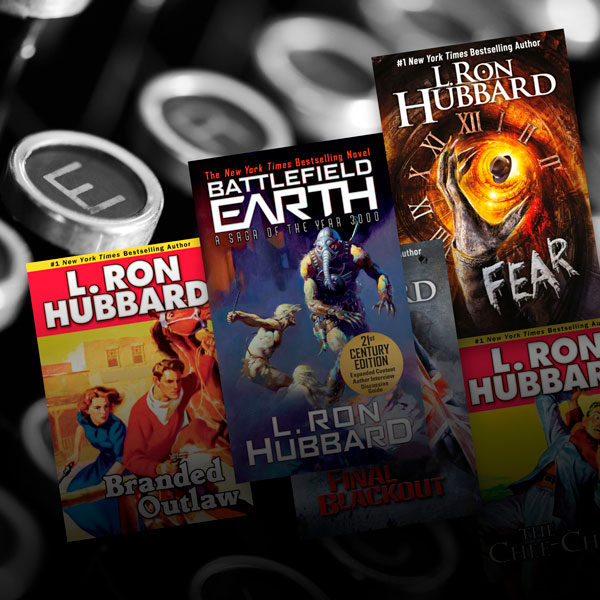 L. Ron Hubbard Fiction Books