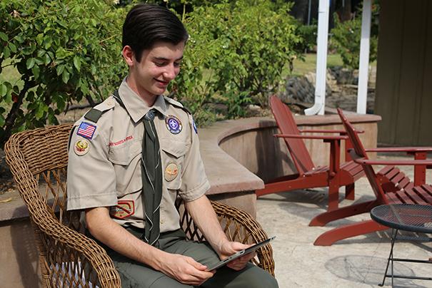 First Class Scout Cassidy