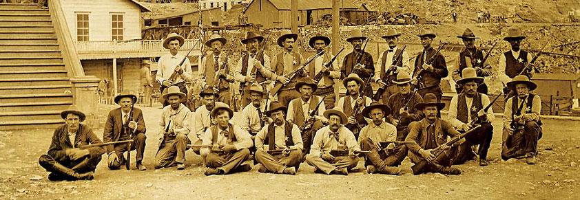 The Arizona Rangers, photo courtesy of Jeremy Rowe Vintage Photography, VintagePhoto.com