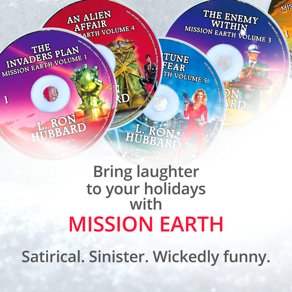 Mission Earth Audiobook