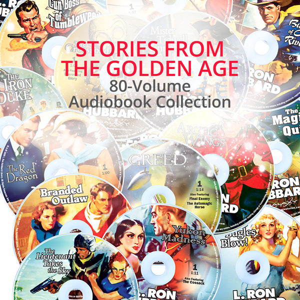 Stories from the Golden Age 80 Audioook Collection