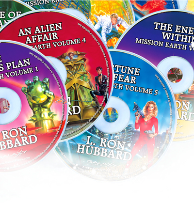 Mission Earth Audiobook CD
