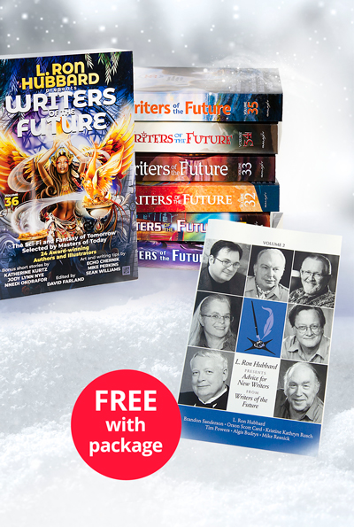Writers of the Future 7-Book Package Deluxe