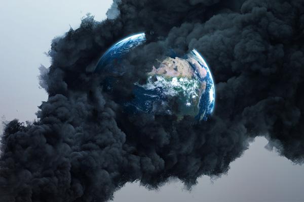 Earth Smoking