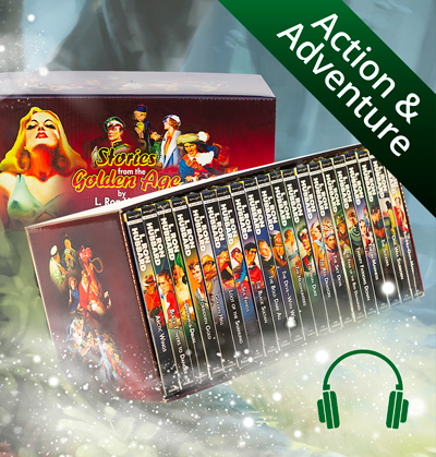 Action & Adventure Audiobook CD Collection