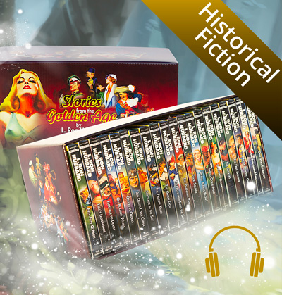 Historical Fiction Audiobook CD Collection