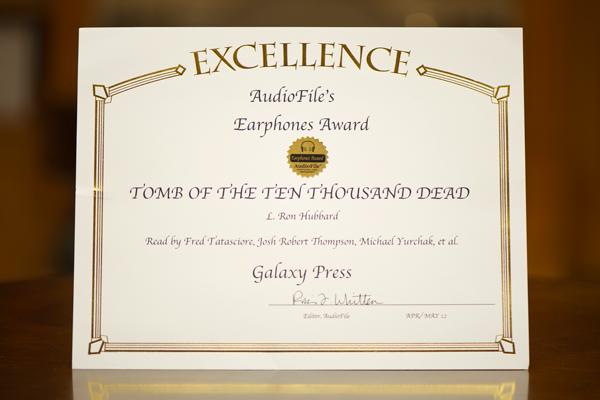 AudioFile Earphone Award - Tomb of the Ten Thousand Dead