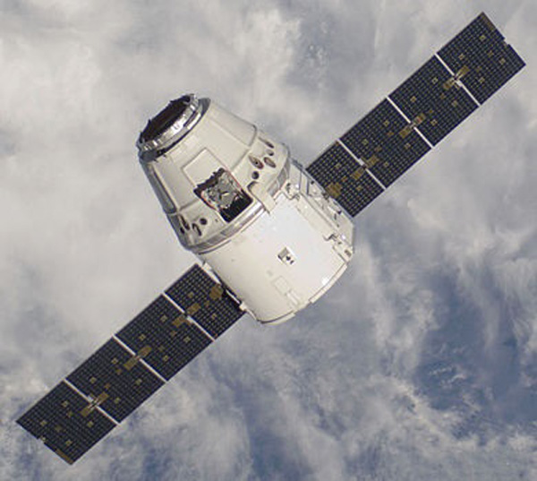 The SpaceX's Crew Dragon spacecraft