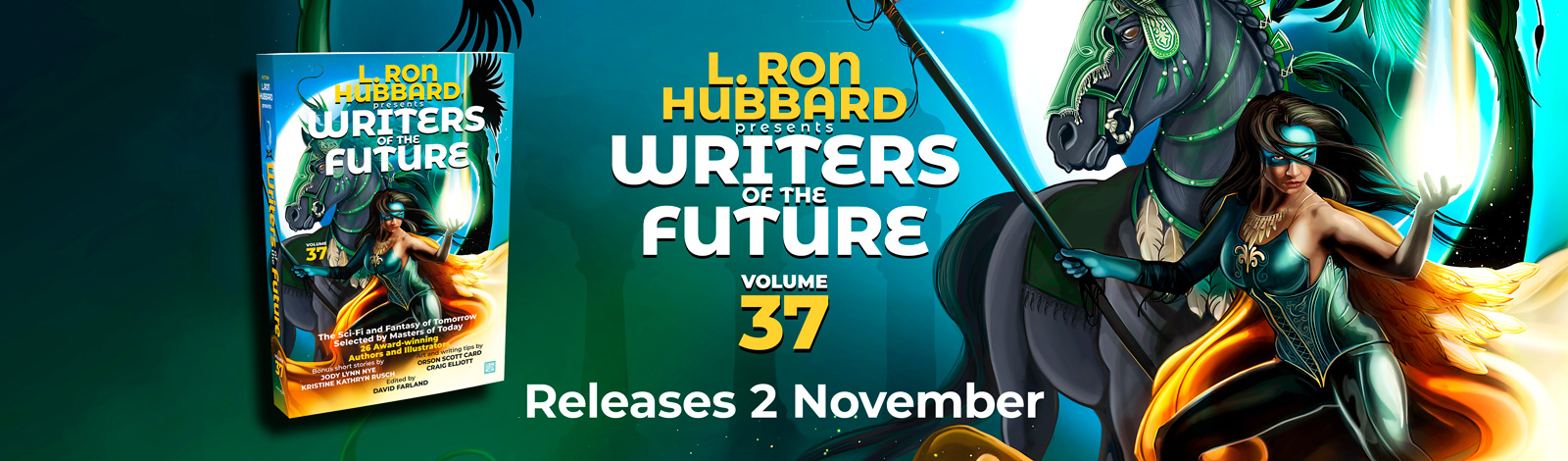 Writers of the Future Volume 37
